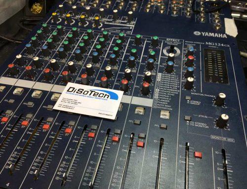 Assistenza Mixer Yamaha MG124CX
