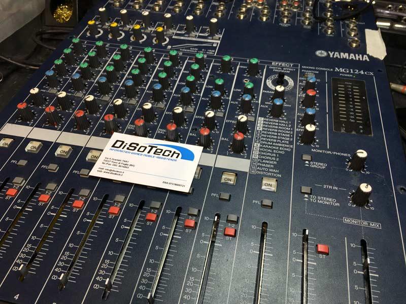 Centro Assistenza Yamaha.Assistenza Mixer Yamaha Mg124cx Centro Assistenza