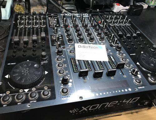 Assistenza Mixer Allen & Heath Xone 4D