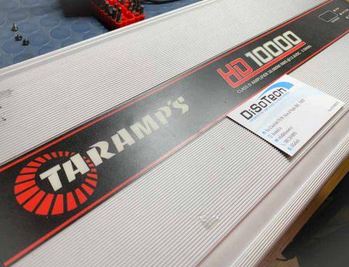 Riparazione amplificatore Taramps 10000 in protezione