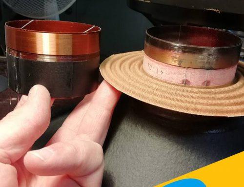 Riconatura Woofer RCF ART 500A riparazione bobina